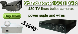 16Ch DVR package